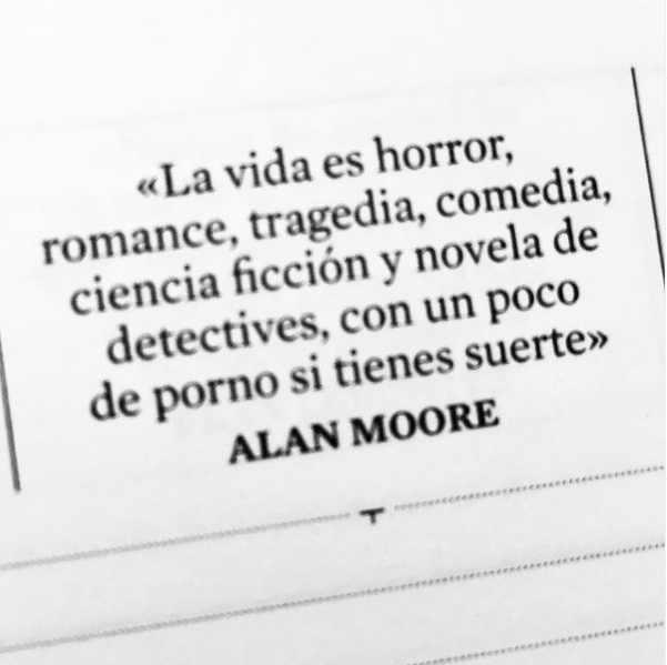 Citas de Alan Moore